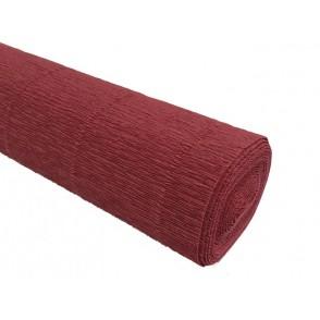 Krep papir, opečnato rdeč