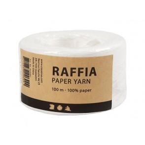 Rafija, bela