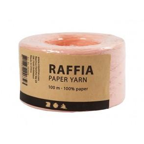 Rafija, svetlo roza