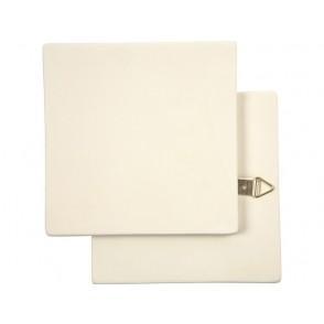 Art plošča, gips, 13 x 13 cm, 7 mm
