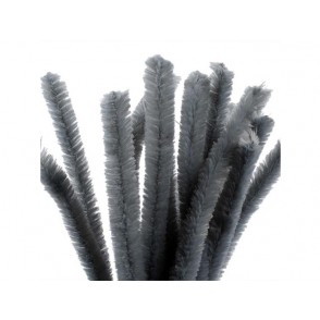 Kosmatena žica, siva
