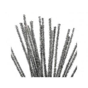 Kosmatena žica, srebrna
