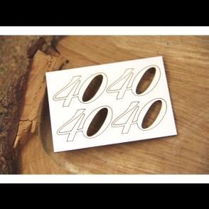 Izrezek, chipboard, številka 40