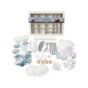 DIY set za ustvarjanje, kreativni darilni set, Zima