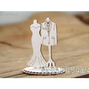 Izrezek, chipboard, 3D, Love in 3D, modela