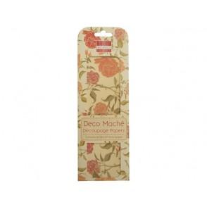 Papir, Decoupage, English rose