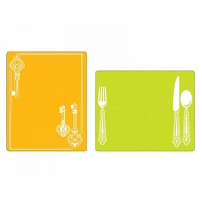 Mapa za embosiranje, Place Setting & Keys Set