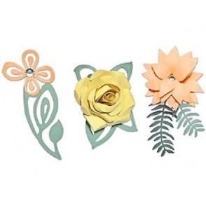 Rezalna šablona, Love Birds 3-D Floral