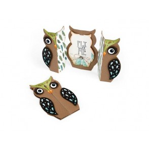 Rezalna šablona, Owl Label Fold-aLong