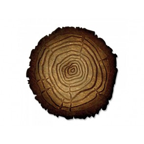 Rezalna šablona in mapa za embosiranje, Tree Rings