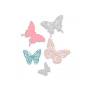 Rezalna šablona, Butterflies