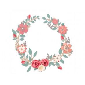 Rezalna šablona, Wedding Wreath