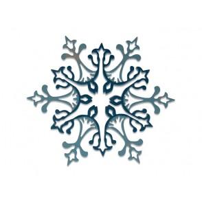 Rezalna šablona, Cross, Thinlits, Stunning Snowflake