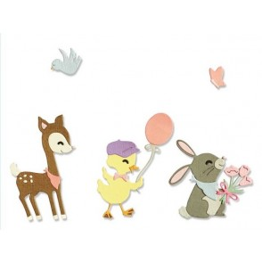 Rezalna šablona, Baby animals