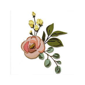 Rezalna šablona, Thinlits, Bloom Colorize
