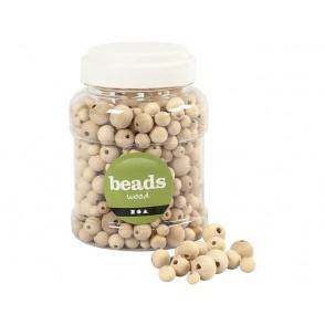 Perle, lesene, različne velikosti