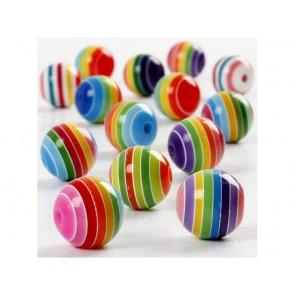 Perle, mix barvnih črt