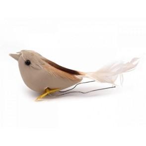 Dekorativni ptiček na žici