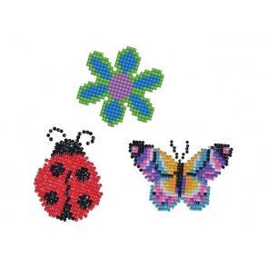 Diamond Dotz, Roža, metulj, pikapolonica