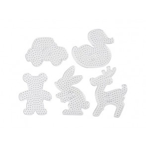 Plošče za perle JUMBO, 5 kosov