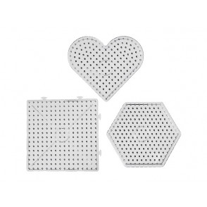 Plošče za perle JUMBO, 6 kosov