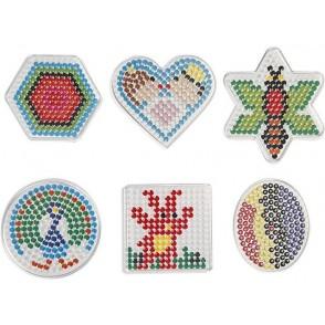 Plošče za perle, 6 kosov