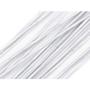 Cvetličarska žica, ovita, bela