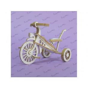 Izrezki, 3D, Tricikel