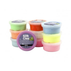 Silk Clay masa za modeliranje, pastelne barve
