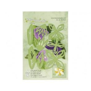 Rezalna šablona, Multi flower 001