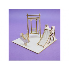 Izrezki, 3D, Igrišče