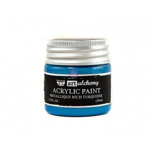 Akrilna barva, Art Alchemy Metallique, Rich Turquoise