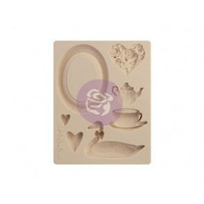 Dekorativni silikonski kalup, With Love
