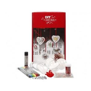 DIY set, božični ornamenti