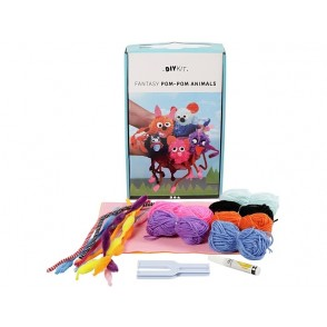 DIY set, živali iz volne