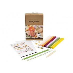 DIY set za ustvarjanje, krep papir