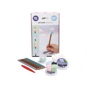 DIY set, svinčnik s samorogom