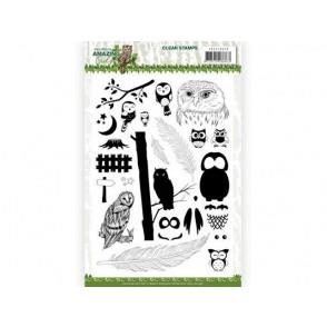 Štampiljka, Amazing Owls