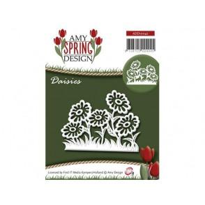 Rezalna šablona, Spring, Daisies