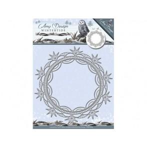 Rezalna šablona, Wintertide, Ice Crystal Frame