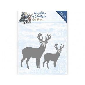 Rezalna šablona, The feeling of Christmas, Christmas reindeers