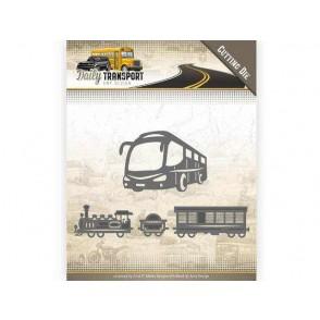 Rezalna šablona, Daily Transport, Public Transport