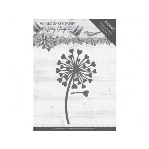 Rezalna šablona, Words of Sympathy, Sympathy Flower