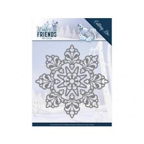 Rezalna šablona, Winter Friends, Snow Crystal