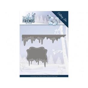 Rezalna šablona, Winter Friends, Ice Border