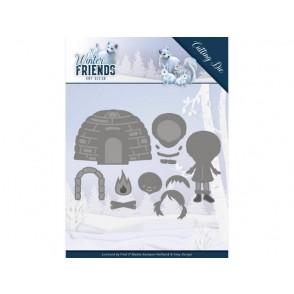 Rezalna šablona, Winter Friends, Eskimo