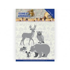 Rezalna šablona, Forest Animals, Forest Animals 2