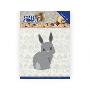 Rezalna šablona, Forest Animals, Bunny