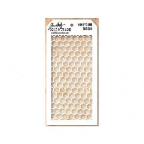 Plastična šablona, Honey Comb
