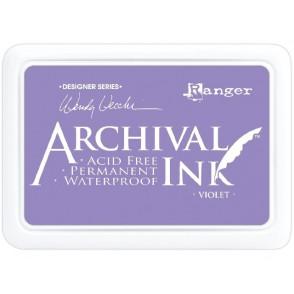 Barvna blazinica, Archival, Violet